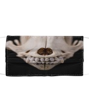 Th 2 dog skull cartoon face Cloth face mask front