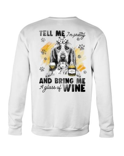Basset Hound And Wine
