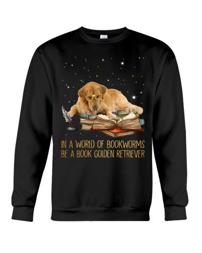 Mt Be A Book Golden Retriever Shirt