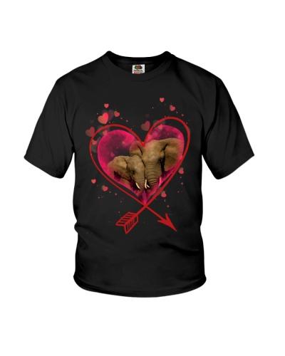 Elephant full of love
