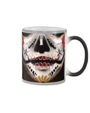 TTN 11 Colorful Tattoo Face Ver 2 Color Changing Mug thumbnail