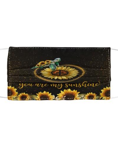 SHN 5 You are my sunshine sunflower Turtle