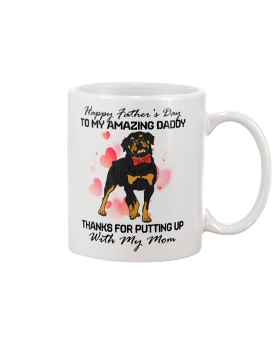 Rottweiler amazing parents daddy