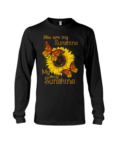 Butterfly only sunshine shirt