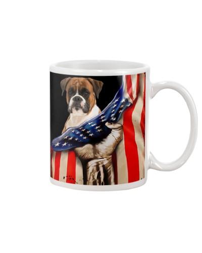 Boxer Hello America