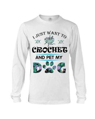 Dog And Crochet