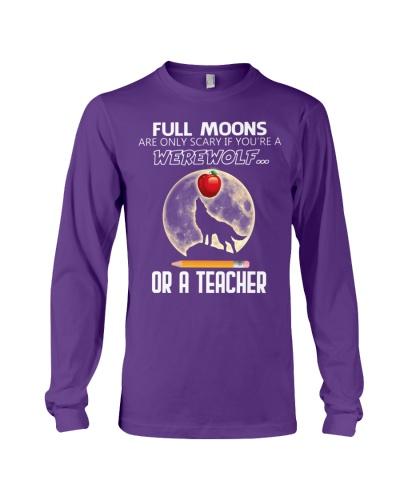 Teacher full moons shirt