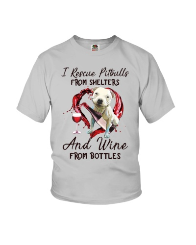 Pitbull and wine