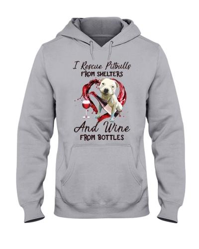 Pitbull and wine