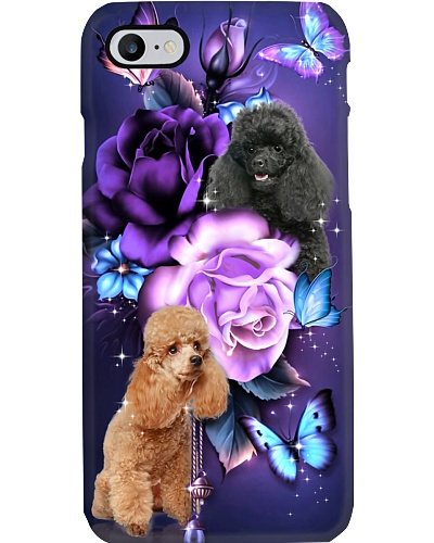 Poodle magical phone case