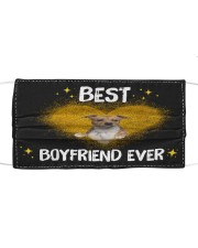 TH 30 Pitbull Best Boyfriend Ever Cloth face mask front
