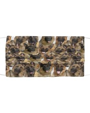 TH 30 German Shepherd Group Cloth face mask front