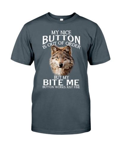 Wolf my nice button