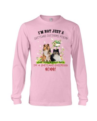 Not just a Shetland Sheepdog person mommy shirt