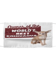 TH 30 The Best Chihuahua Cloth face mask front