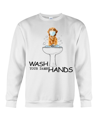 Fn 8 Golden retriever wash your damn hands