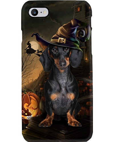 Dachshund halloween phone case