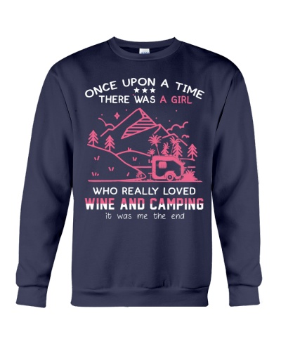 Camping and wine