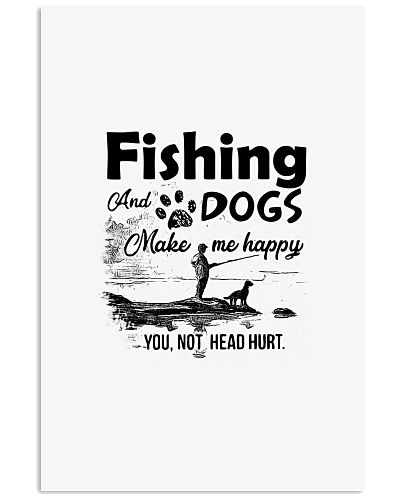Fishing dog shirt