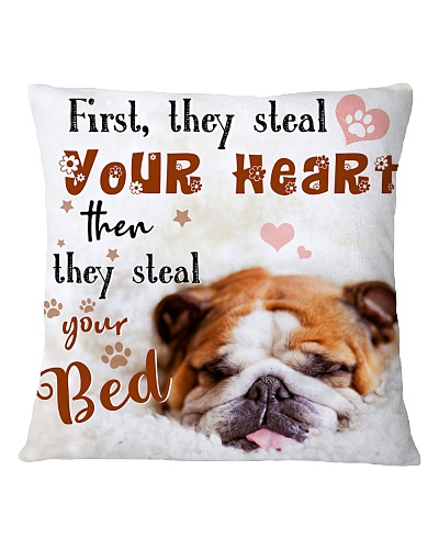 Bulldog Steal Your Bed