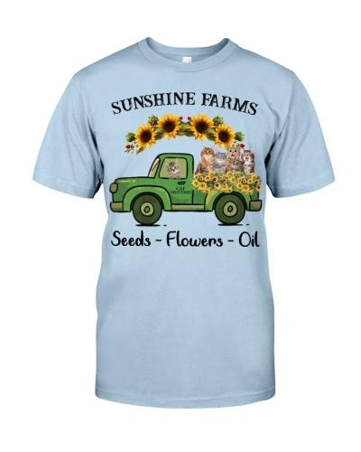 SHN 10 Sunshine farms sunflower Cat