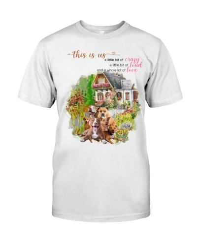 dt 11 pitbull with flower garden 18520