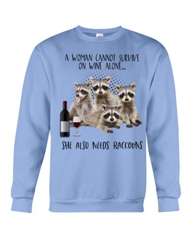 Raccoons wine she needs