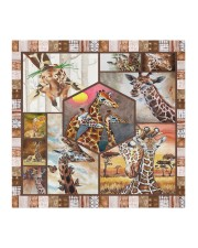All About Giraffes Cloth face mask aos-face-mask-coverlet-lifestyle-front-02