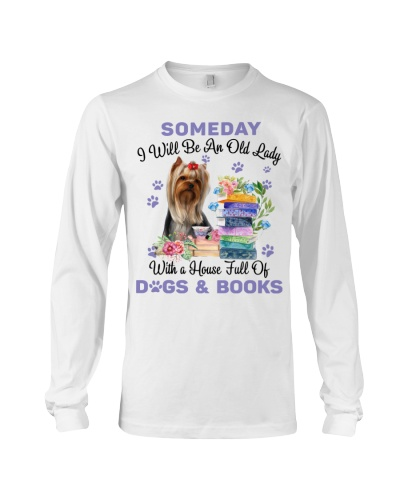 Yorkshire terriers and books