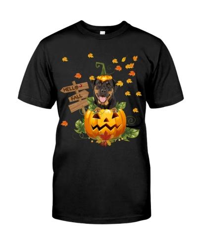Rottweiler hello fall