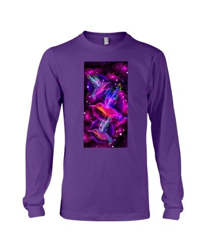 SHN 10 Magic galaxy rose Hummingbird phone case