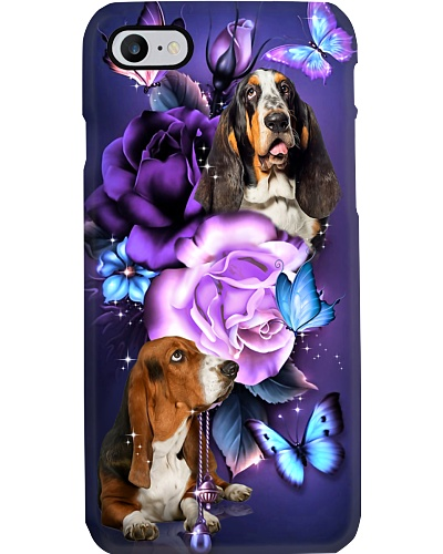 Basset hound magical phone case
