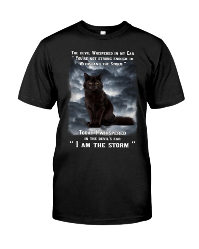 Cat is the storm