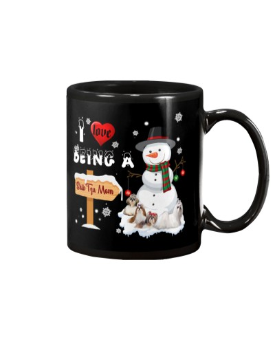 I love being Shih tzu mom mug