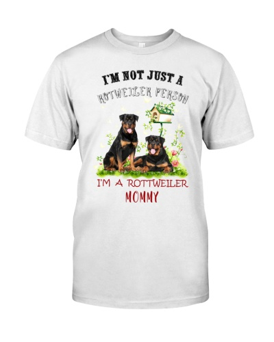 SHN 7 Not just a Rottweiler person mommy