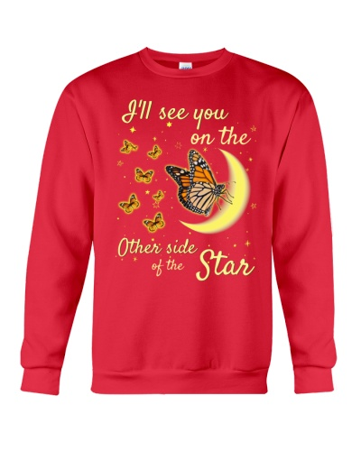 SHN Other side of the star Butterfly shirt