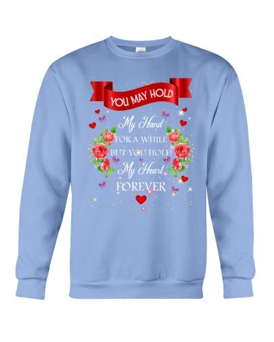 SHN Hold my heart forever Husband shirt