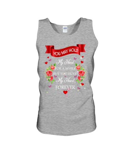 SHN Hold my heart forever Husband shirt