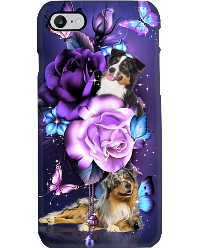 Australian shepherd magical phone case