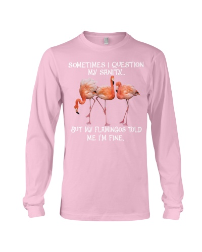 SHN 10 Question my sanity Flamingo