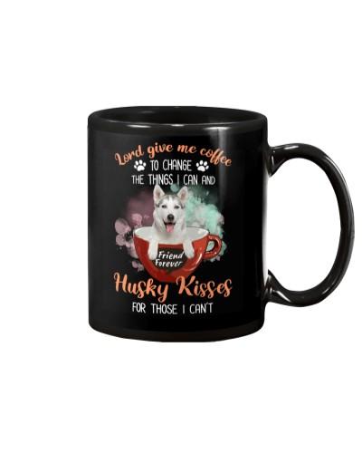 Husky Kisses And Coffee