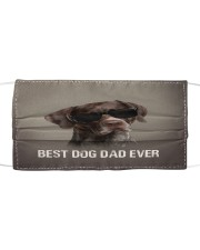 th 5 German Shorthaired Pointer Best Dog Dad Ever Cloth face mask front