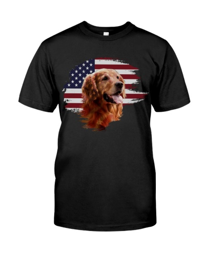 Golden Retriever flag
