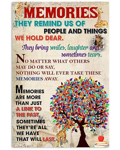 Giraffe memories poster