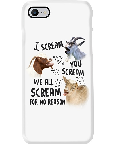 We All Scream For No Reasson Goat Shirt