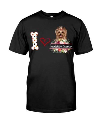 I love Yorkshire Terrier