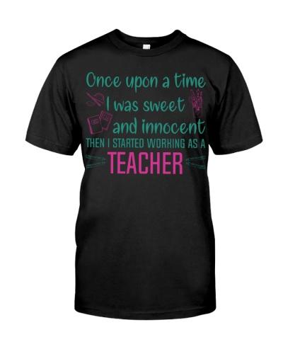 Teacher once upon a time