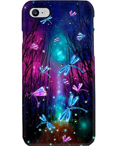 Qhn 7 Fairytale Forest Dragonfly Phone Case
