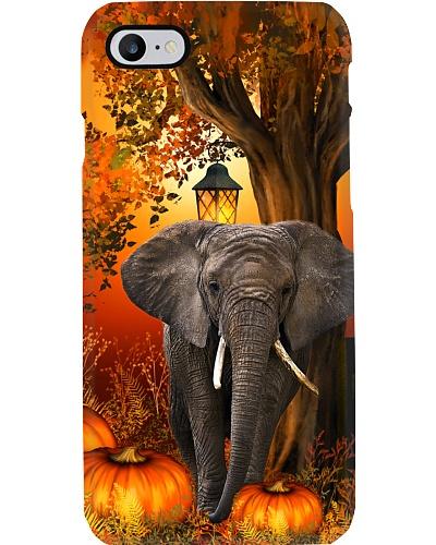 Elephant autumn tree case
