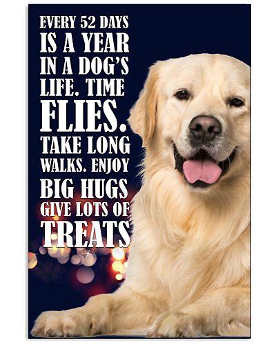 Golden Retriever Lots Of Treats Poster